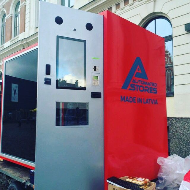 Automated store for outdoor   Made in Latvia - automated