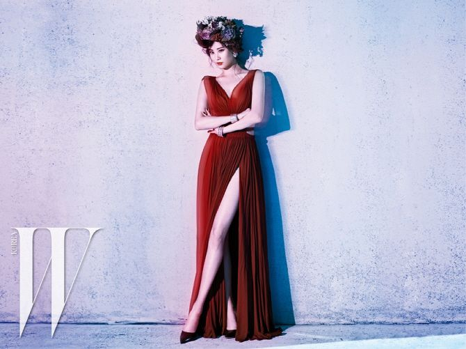 7 Stunning SM Ladies Including Seohyun, Amber, and Go Ara Pose for W Magazine