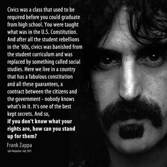 I never like the MOI but you have to give it to Zappa here.btw, why and I  have no idea why as he wasn't Lithuanian, there is a statue of him in ...