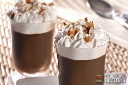Receita de Café mocha gelado com gianduia em receitas de bebidas e sucos, veja essa e outras receitas aqui!