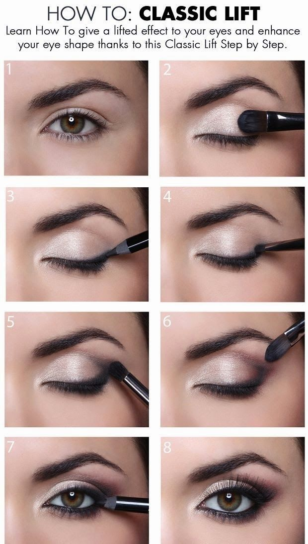 how to give a classic lift to your eyes maquillaje de ojos