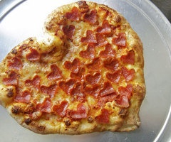 serious eats: how to make heart shaped pizza