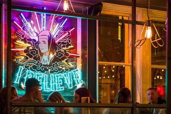 怀旧美国风,Blacksheep. 设计事务所为 RED'S TRUE BARBECUE 打造特色烤肉店 | 理想生活实验室