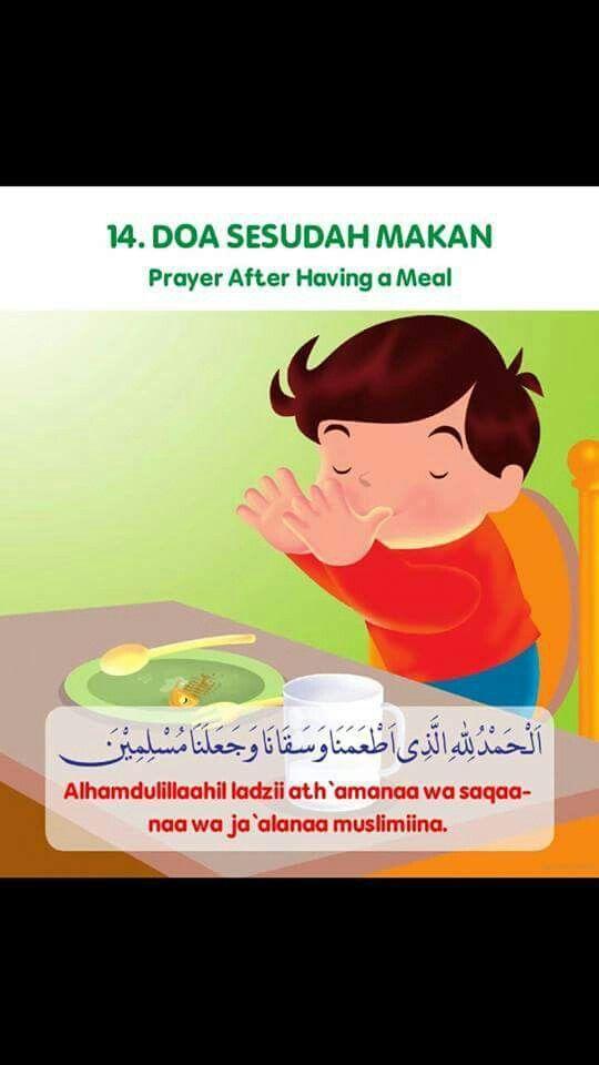 Doa Selepas Makan