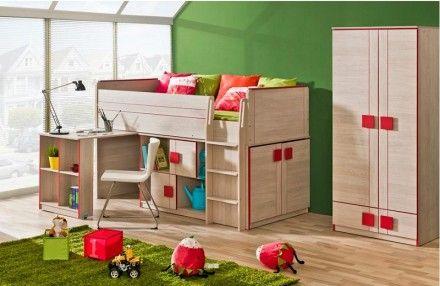 Dětská multifunkční postel Gumi G19