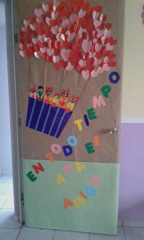 17 best images about puertas decoradas on pinterest for Puertas decoradas del 14 de febrero