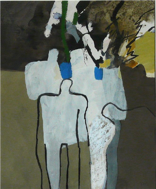 """Standing Figures"", by Keith Vaughan (1912–1977)"