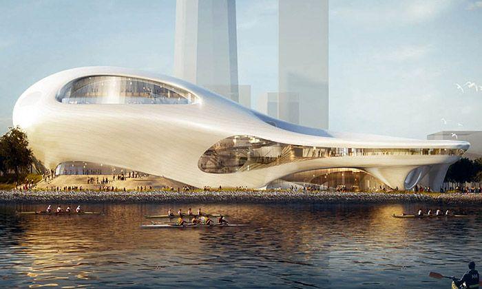 MAD navrhli futuristická muzea pro George Lucase