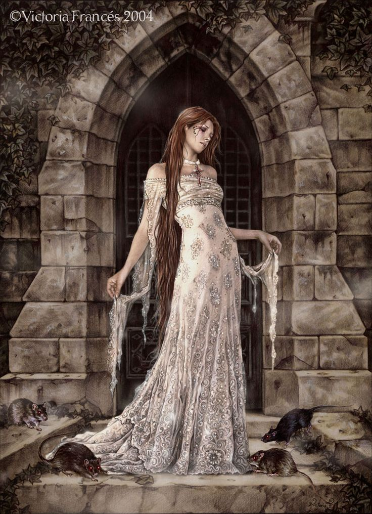 Dark Sanctuary by Victoria Frances. Back in 2007 she was my favorite artist.