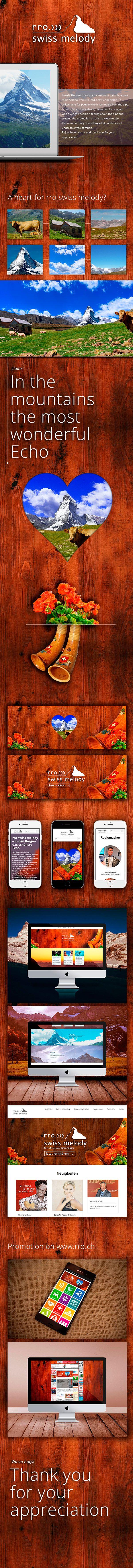The new branding for rro swiss melody #rro #swissmelody #matterhorn #zermatt