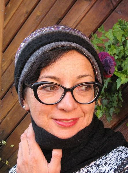 Wickel Stirnband Walk von Janecolori auf DaWanda.com