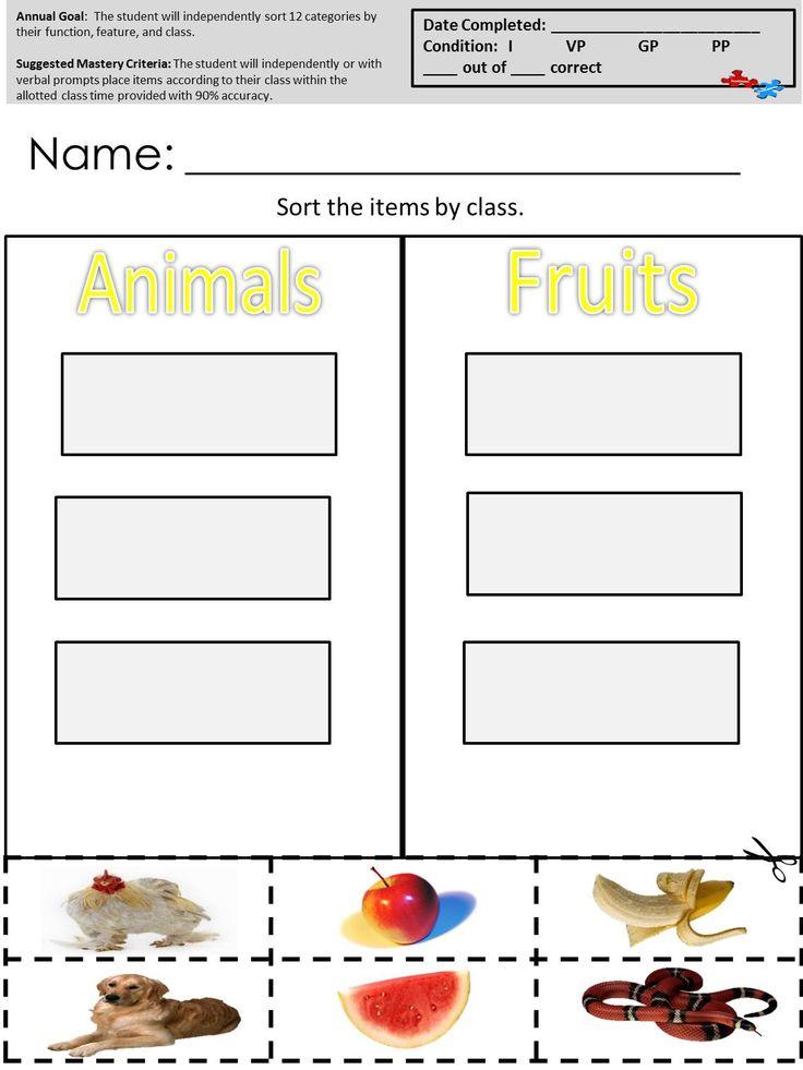 Autism Teaching Resources Autism Teaching Autistic Students Autism Classroom Autism life skills worksheets