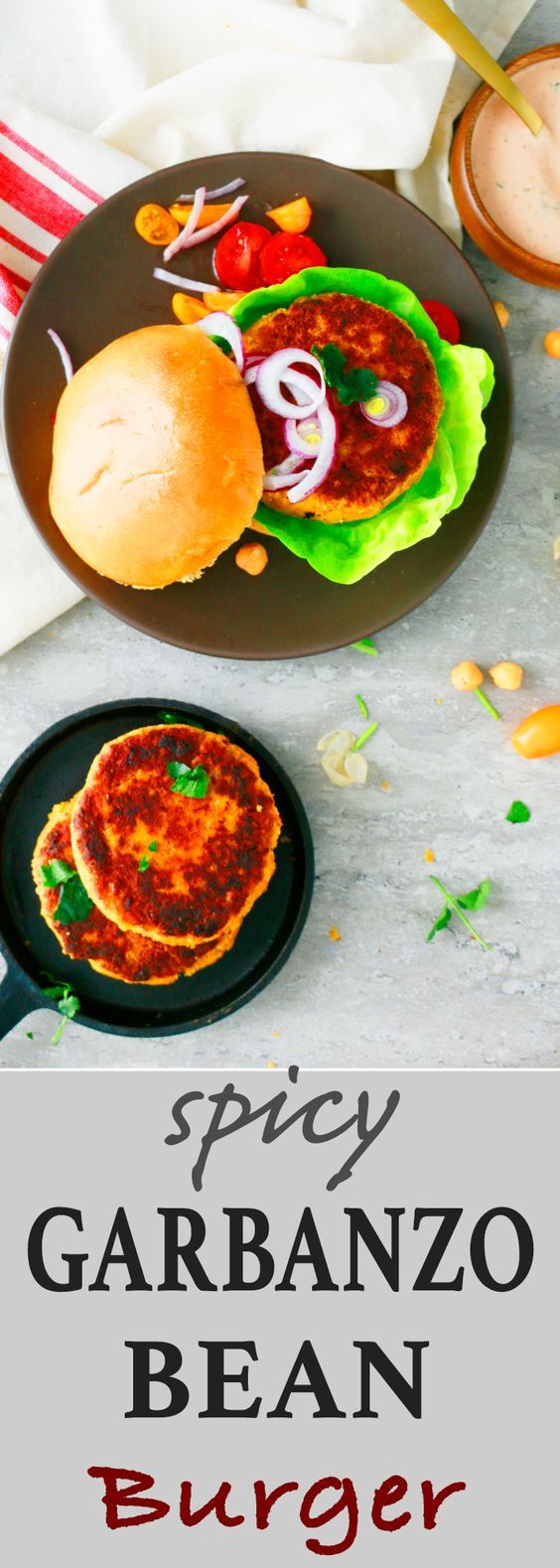 easy veggie burger recipe   garbanzo bean burger  baked garbanzo bean burger   spicy chickpea burger   garbanzo bean burger recipe   best chickpea burger recipe   best homemade veggie burger   chickpea burger recipe   meatless monday recipe   easy weeknight dinner recipes