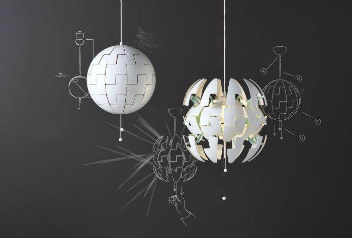 Lampy sufitowe IKEA