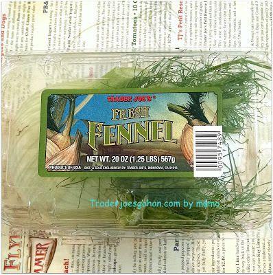 Trader Joe's Fennnel $2.29 トレーダージョーズ フェンネル トレーダージョーズの野菜と大麦(バーレー)のスープ Barley Soup