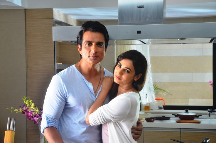 Sonu Sood and Sonal Chauhan at an ad shoot for Texmo Pipe Fittings in Madh Island