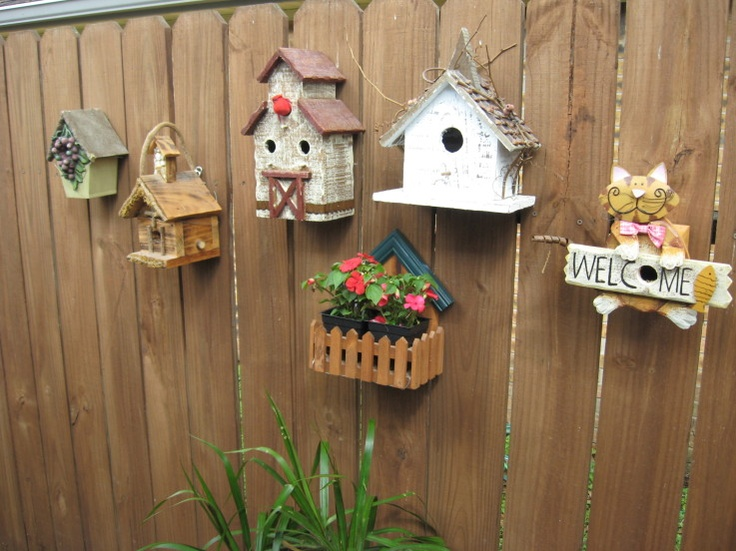 Maybe if I had multiple bird houses, that would stop the constant territorial disputes that result in dead bald baby birds and broken eggs.