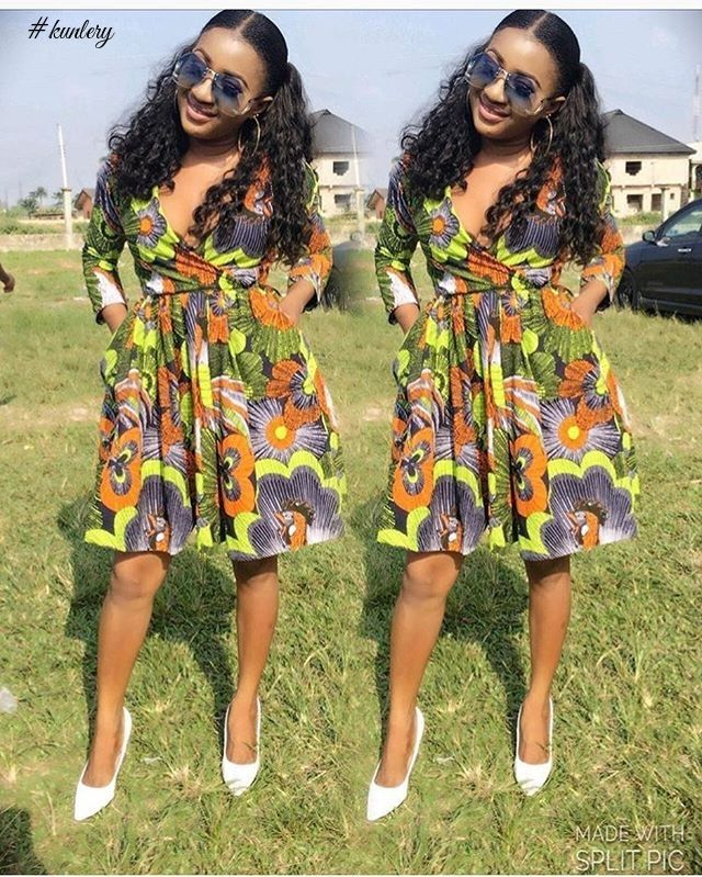 BEAUTIFUL AND TRENDY ANKARA STYLES FOR YOUR DECEMBER SLAY