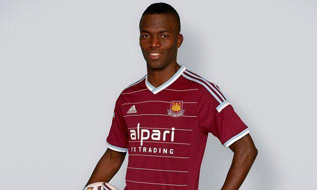 West Ham's striker Enner Valencia