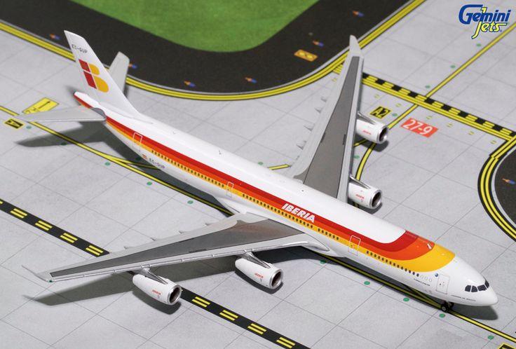 1/400 GeminiJets Iberia Airbus A340-600 Diecast Model