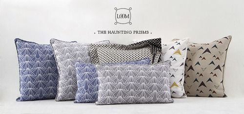gotta have one of these! LOOM decorative pillow collections. #loom #decorative #pillow #loomfabric