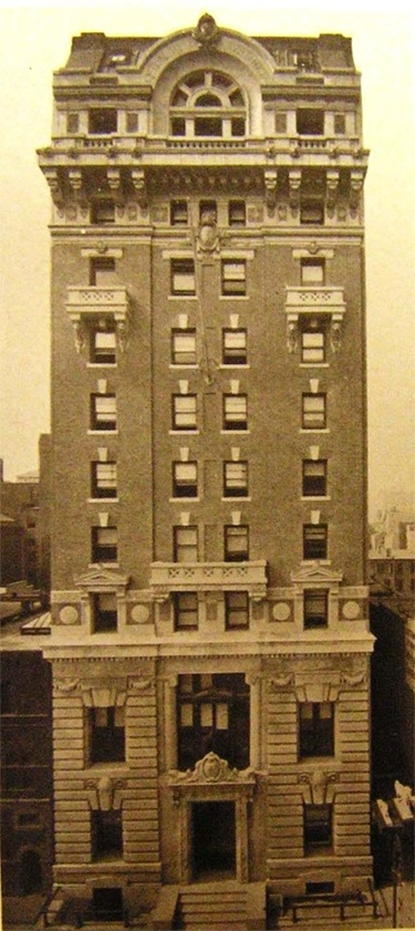 Club house of The Penn Club - historical image (before it was the Penn Club of New York), circa 1904