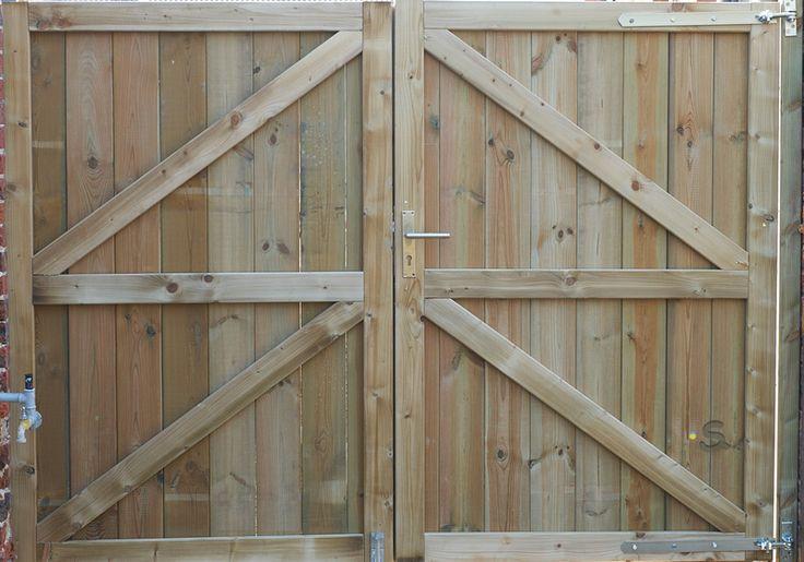 stap voor stap plan houten poort - Google zoeken