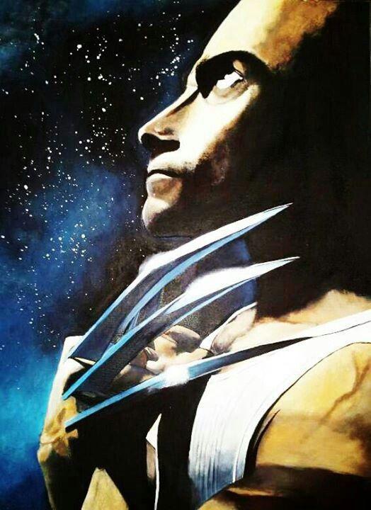 "The Wolverine  16x20"" $85.00"