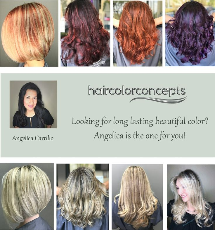 10 Best Hair By Angelica Carillo Images On Pinterest California