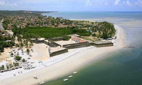 Forte Orange, Praia de Itamaracá, Pernambuco.