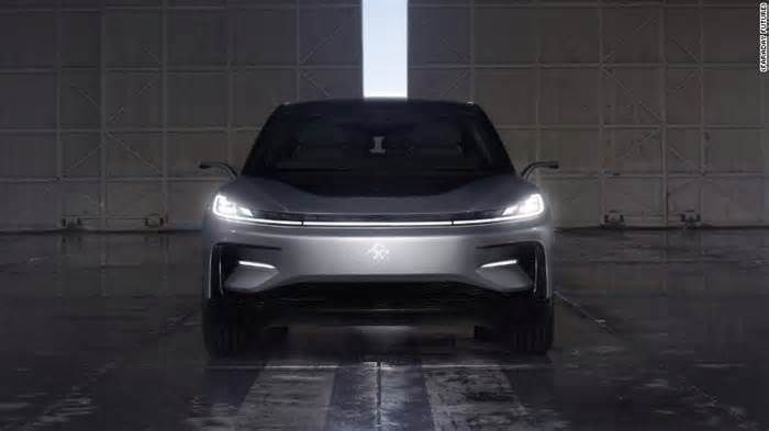 CES 2017: Faraday Future Unveils \'new Species\' Of Electric Car