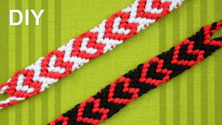 sandylandya@outlook.es  Heart Friendship Bracelet for Valentines Day / DIY Tutorial