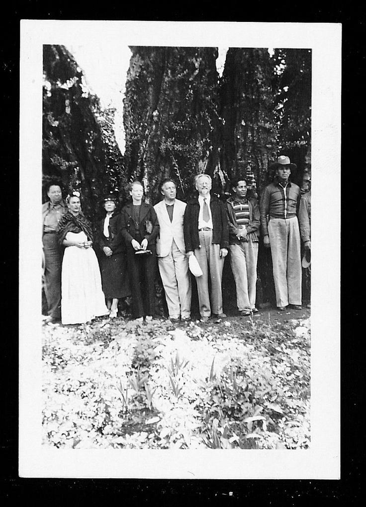 Frida Kahlo, Diego Rivera, André Breton, Léon Trotsky