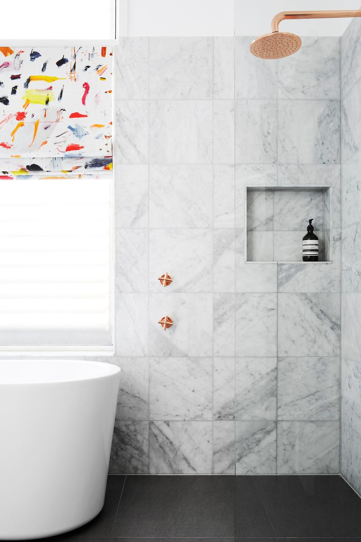 luxe coper marble bathroom makeover photography alexander mcintyre story australian house - Bathroom Accessories Newcastle Nsw