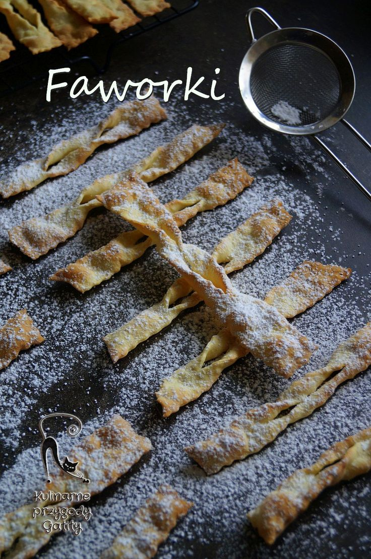 Kulinarne przygody Gatity: Faworki z piekarnika