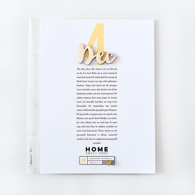 December Daily day 4 right side. #decemberdaily #decdaily #christmasiscoming #onmydesk #aliedwards #decemberdaily2016 #4x6 #memorykeeping #december_daily #leontienisdoingdecemberdaily # #scrapbook #scrapbooking #digitalscrapbooking #hybridscrapbook #projectlife #pocketpages #pocketpagescrapbooking #documentlife #documentyourday #printingathome #journalingcards #keepitsimple