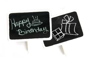 Blackboard Signs - Wooden W/Clips