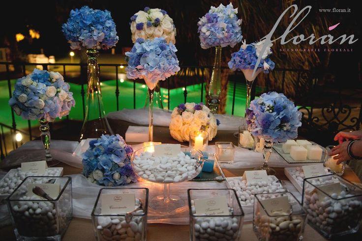 Composizioni floreali per matrimoni -