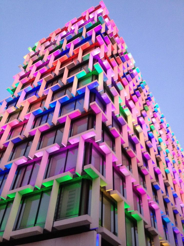 Colorful 1960s Modernist #Council #House in #Perth, Western #Australia.