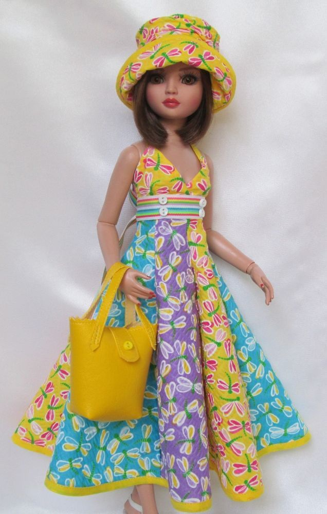 ELLOWYNE'S SUNNY SUMMER DAYS OUTFIT, by ssdesigns via eBay, SOLD 5/30/15  BIN $53.99