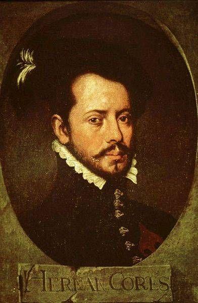 Hernando Cortes, Conquistador of the Aztec Empire.