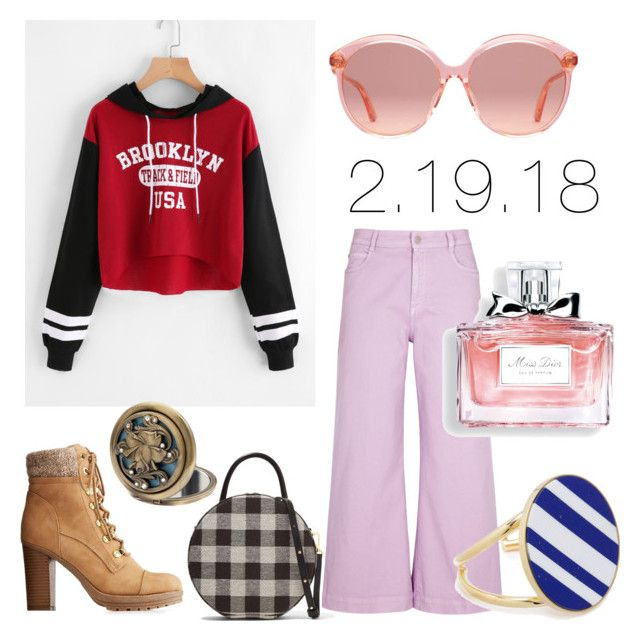 """2.19.18"" by ccatprvncess on Polyvore featuring STELLA McCARTNEY, Charlotte Russe, Mansur Gavriel, Gucci, Joanna Laura Constantine, Christian Dior and Disney"