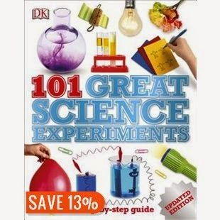 Glimpse: DK Discovery Day ~ 101 Great Science Experiments (Revised Edition) ~ GIVEAWAY!