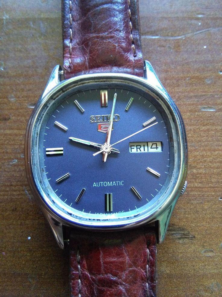 Seiko 5 automatico raro vintage blue dial 1979  | Orologi e gioielli, Orologi, ricambi e accessori, Orologi da polso | eBay!