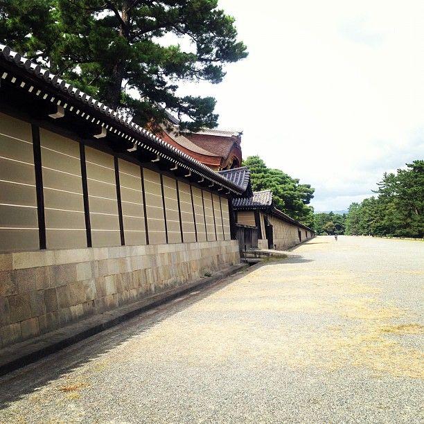 京都御所 (Kyoto Imperial Palace) : 京都市, 京都府