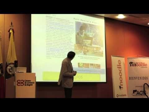 e-learning , conocimiento en red: Amor & Gamification ... Moodle Moot Colombia Fernando Santamaría ... by @lernys ... #enhorabuena