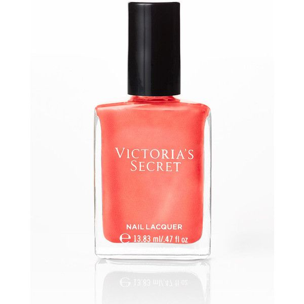 Victoria's Secret Nail Lacquer (17 BRL) ❤ liked on Polyvore featuring beauty products, nail care, nail polish, nails, pink, heat wave, shiny nail polish, victoria secret nail polish, victoria secret nail lacquer and victoria's secret