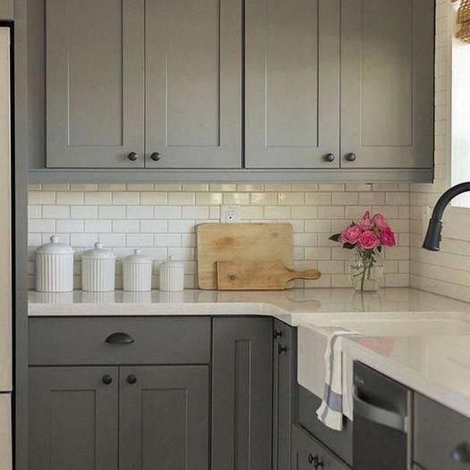 36+ What Does Gray Kitchen Cabinet Decor Ideas Mean ...