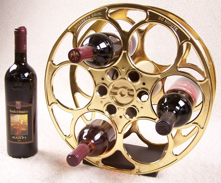 10 best ideas about film reels on pinterest movie decor for Movie reel wine rack