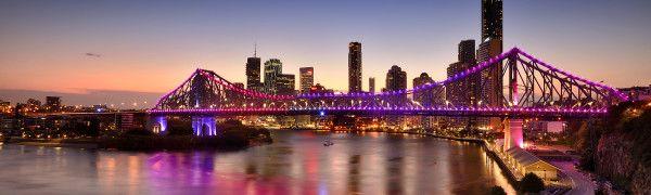The Story Bridge in Brisbane, QLD – Australia.